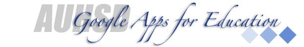 AUHSD Google Apps